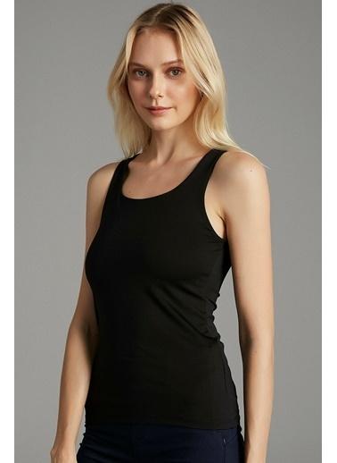 Penti Kadın Siyah Miracle  Tişört PH0PWDGZ20IY Siyah